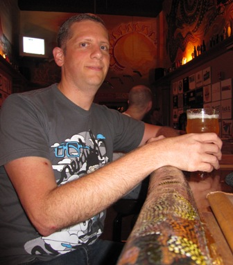 Photo of Wes the Craft Beer Geek Himself at his favorite bar Stubbies