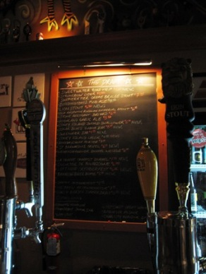 The On Tap List at Stubbies