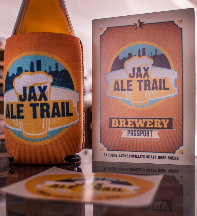 Jacksonville Ale Trail Passport and Koozie