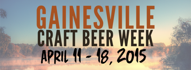 Gainesville Craft Beer Week Banner