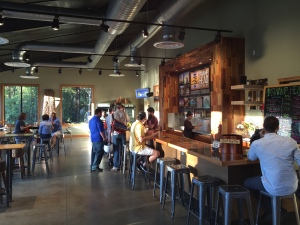 The Wetlands tasting room at Swamp Head Brewing