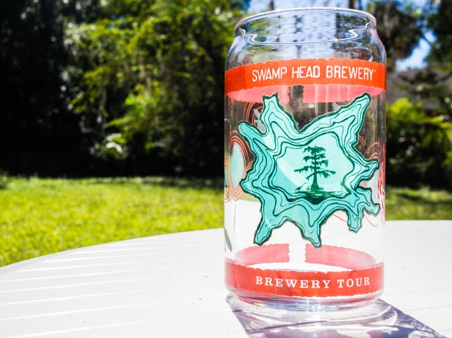 Tour Glass from Swamp Head Brewing